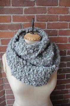Seed Stitch Cowl Pattern $3.00 by KnitCollage
