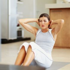 4 Equipment-Free Indoor Cardio Workouts For Small Spaces...I have got to get a yoga mat for my basement workout room