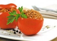 Tomate relleno a la italiana para #Mycook…