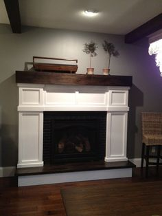 I am super excited to be writing this post because building our faux fireplace is one of the DIY projects I am most proud of. It has taken me almost a year to complete the whole project but the end...