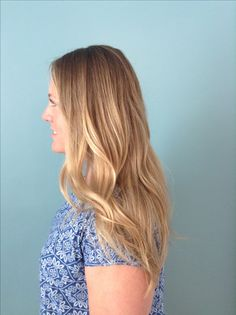 Beautiful blonde baylage for summer!