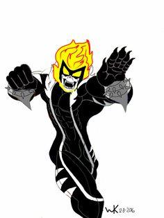 sabretooth(marvel)/ghost rider