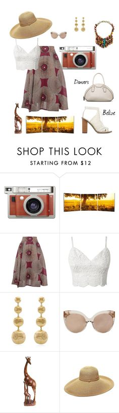@shoedazzle with #AnkaraStyles . . .    http://Shoedazzle.com/invite/thekgcollective by inglewooddiva on Polyvore featuring Marco Bicego, Gottex, Linda Farrow, Elementem Photography and Lomography