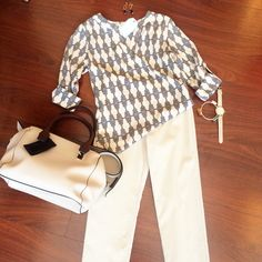 Look stylish and smart in today's Working Woman Wednesday outfit! #bellaragazzaboutique #ootd #workingwomanwednesday