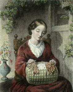 Thomas Woolner (1825-1892):  'Pillow Lacer Maker'