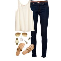 """""""It's Actually Really Warm Out!"""" by classically-preppy on Polyvore"""