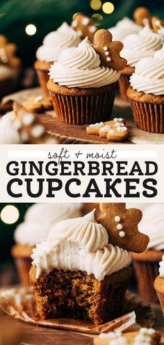 Gingerbread Cupcakes - Butternut Bakery