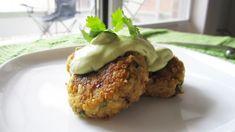 Quinoa Falafel with Avocado Tahini Dressing (Vegan, Gluten-Free)