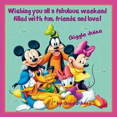 Pato Donald Minnie Mouse Good Morning Disneyland Friday Daisies Animals Buen Dia Bonjour Disney Land Resorts