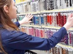 Follow Me Around | Tips for Bead Storage & Organization | eclecticdesigns