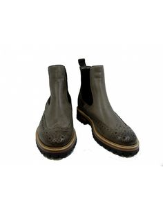 SEBOY'S - BOOTS FOURRE TAUPE