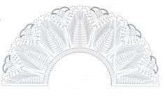 MINI ABANICOS - Maria de prada - Picasa Web Albums Crochet Collar, Lace Collar, Crochet Lace, Beads Jewelry, Lace Jewelry, Bobbin Lace Patterns, Embroidery Patterns, Bobbin Lacemaking, Lace Heart