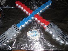 Star Wars cupcake cake