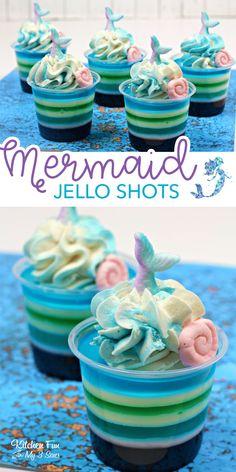 Jello Shot Recipes, Jello Desserts, Alcohol Drink Recipes, Dessert Recipes, Alcohol Jello Shots, Jello Shots With Rum, Summer Jello Shots, Jelly Shots, Jello Salads