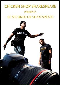 BOOK TICKETS NOW for 60 Seconds of Shakespeare Sat 25 Oct LEEDS