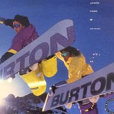 Double method throwback with Noah Brandon and @jason_ford. Circa 1990. #tbt #throwbackthursday #burtonarchives | Photo: @rod_walker