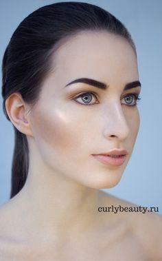 Макияж нюд Nude make up www.curlybeauty.ru работа, девушка, рубеж, австралия, турция, сша, америка, граница http://escort-journal.com/