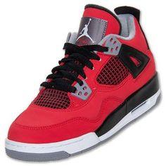 pretty nice f5de4 59f62 Air Jordan IV (4) Retro (Kids) Air Jordan Iv, Jordan Red