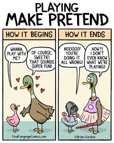 Fowl Language Comics :: Make Pretend | Tapastic Comics - image 1
