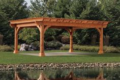 Amish Kingston Cedar Pergola Kit