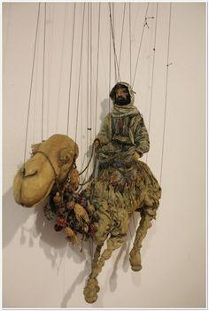 Desert rider marionette...