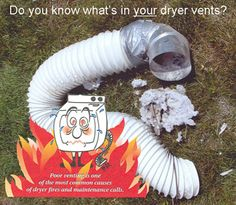 Make Sure your Dryer Vent is free from any and all Obstructions! Carlin Chimney can help 732-818-7720 serving Ocean and Monmouth Counties in New Jersey