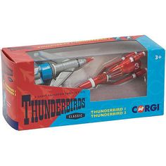 #Corgi thunderbirds thunderbird 1 & thunderbird 3 #diecast #models new,  View more on the LINK: http://www.zeppy.io/product/gb/2/361676656067/