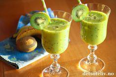 C-vitaminbombe-smoothie med kiwi   Det søte liv