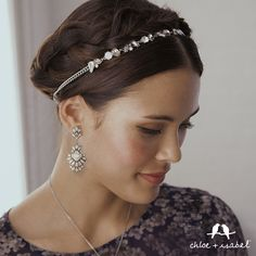 Shop Lumière on my Chloe + Isabel boutique! The new headband adds that perfect wintry touch! Click thru!