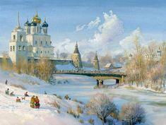 Талантливый русский художник Жданов Владимир Юрьевич. | Наслаждение творчеством