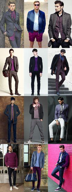 Superhero Style Inspiration: The Hulk Purple Lookbook Inspiration