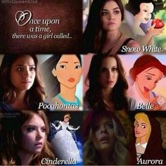 Once upon a time/pretty little liars