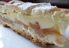 Jablečný koláč s vanilkovým pudinkem | NejRecept.cz