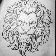 – Graffiti World Tattoo Sketches, Tattoo Drawings, Drawing Sketches, Art Drawings, Lion Tattoo Design, Tattoo Designs, Body Art Tattoos, Sleeve Tattoos, Tattoo Bauch