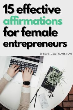 Girl Boss Quotes | Click to see 15 effective and powerful positive affirmations for female entrepreneurs! Become a successful business woman. Strong, independent girl boss. #girlboss #femaleentrepreneur #businesswoman #successaffirmations Business Woman Successful, Business Women, Negative Thinking, Negative Thoughts, Schedule Design, Girl Boss Quotes, Productive Day, Magic Words, Journal Prompts