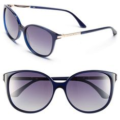 fbf62697c3f kate spade new york  shawna  56mm polarized sunglasses ( 110) ❤ liked on