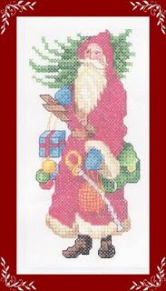 Santa with sword