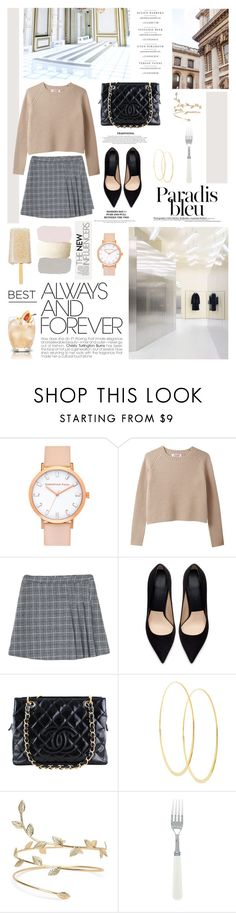 """""""♠ Parisian Chic"""" by paty ❤ liked on Polyvore featuring Zara, Chanel and Lana"""