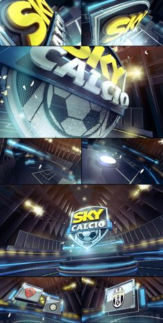 Sky Calcio on Behance