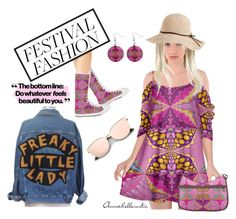 """""""Festival Fashion"""" by annabellerockz ❤ liked on Polyvore featuring oufit"""