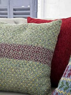 Little Circles Cushion by Martin Storey on Ravelry