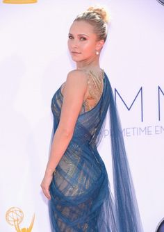 Hayden Panettiere at the Emmy's 2012