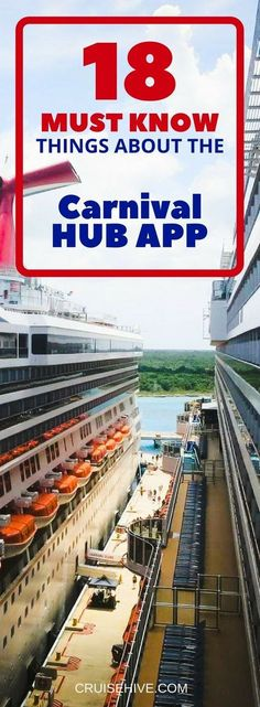 18 Must Know Things About The Carnival Hub App for your next cruise vacation. Packing For A Cruise, Cruise Travel, Cruise Vacation, Vacation Trips, Honeymoon Cruise, Disney Cruise, Vacation Ideas, Vacation Destinations, Shopping Travel