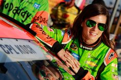 Danica honors a fallen soldier by putting his name on her car for the Coca-Cola 600, taking place at Charlotte Motor Speedway over Memorial Day weekend, 5/21/15.