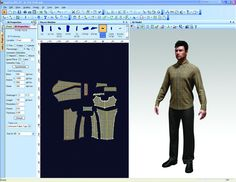 "Men""s Clothing 3D Suite, Create Garments, Fit to Avatar, and Animate"