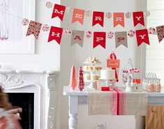 minted holiday decor shoot by lovely little details