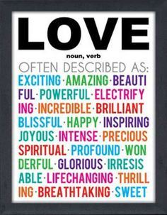Love Meaning Color