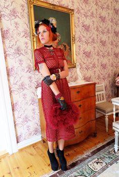 The wardrobe of Ms. B: Thursday maiden