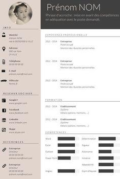 ✿ Envie d'un CV design et tendance ? Plus