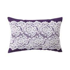 Xhilaration® Lace Decorative Pillow - Purple Quick Information